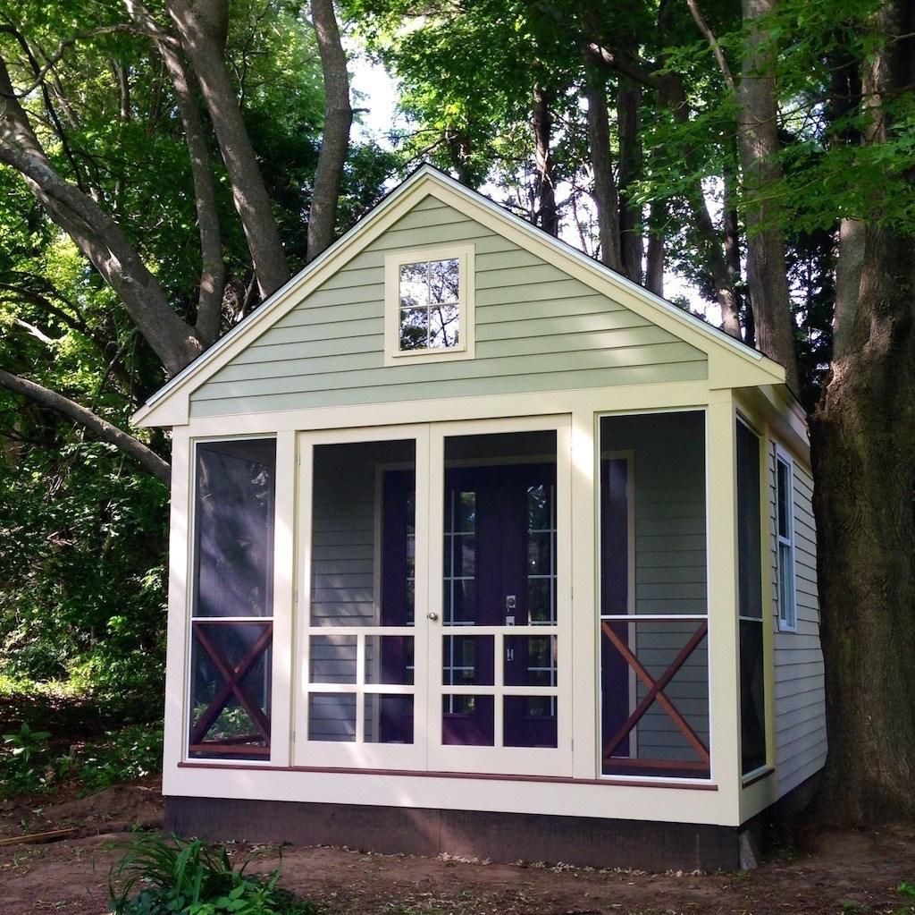 Ann Handley's tiny house