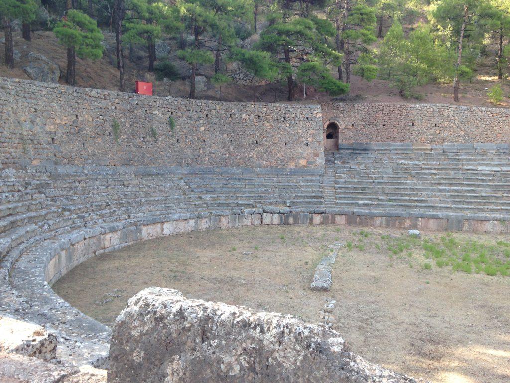 gymnasium at Delphi