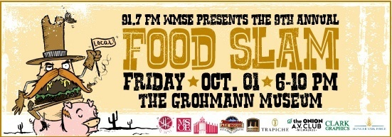 funny copy for the WMSE Food Slam